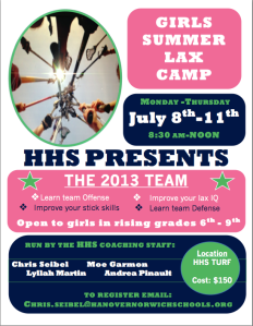 Local Girls Lax Camp